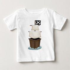Pirate Birthday Party Baby T-Shirt