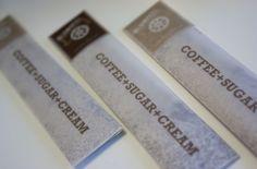 Cream & Sugar Packaging by Cedrik Ferrer, via Behance