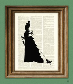 Steam Punk Art Print Victorian Woman Automaton and by collageOrama, $6.99