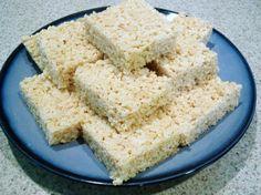 Vanilla Almond Rice Krispies Treats