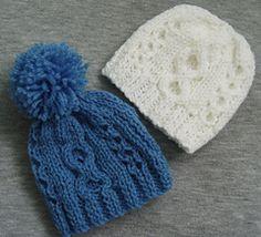 Ravelry: Newborn Aran Style Free Pull-on Hat Pattern pattern by Jacqueline Gibb