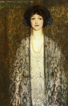 """""""La Donna', Philip Leslie Hale (1865-1931) via:jeannepompadour"""