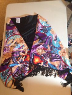 Wrap in the famous comet landing shirtstorm fabric. www.ellyprizeman.com