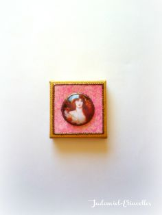 """Mini toile décorative série """" Il était une fois : Les Muses de Rossetti ... """" n°5 : Accessoires de maison par jademiel-etincelles"""