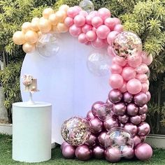 Foto Requisiten Kulissen - New Sites Balloon Backdrop, Balloon Wall, Balloon Garland, Balloon Decorations, Baby Shower Decorations, Balloon Installation, Balloon Columns, 1st Birthday Parties, Birthday Party Decorations