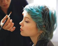 """Judith Viola on Instagram: """"lived in ✨ iconic at its best, problematic at its worst. #inspiredby forever inspired by Lea Seydoux's grown in, faded out blue hair.…"""""""