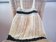 How Precious! 15 Adorable Crochet Baby Dress Patterns