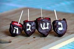 Chosen Eats: Chocolate-Covered Strawberry Dreidels | Jewish Boston Blogs