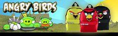 Mochilas Angry Birds na Catmania , volte as aulas arrasando com as mochilas mais estilosas do momento. http://www.catmania.com.br/angry-birds