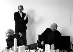 Workshop with Frank Gehry, Rem Koolhaas, Jean Nouvel, Dusseldorf 1997