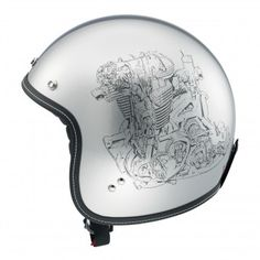 Casque Jet AGV RP60 Multi Engine Grey http://www.icasque.com/Casque-moto/Jet/RP60-Multi-Engine-Grey/