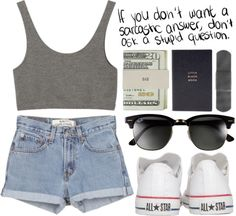"""""""Duh"""" by carocuixiao ❤ liked on Polyvore"""