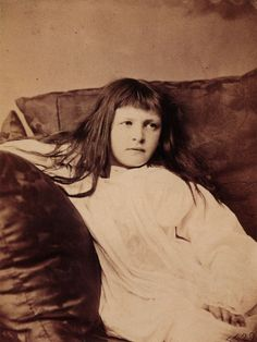 Lewis Carroll. Fine Art Photography. Xie Kitchin. 1874.