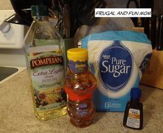 Homemade Face Scrub! DIY Exfoliant With 4 Household Ingredients! #DIY #Skincare #Homemade