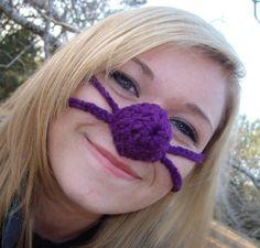 Purple Nose Heater, Nose Warmer, Teen, Tween, Woman, Man, Unisex. Nose Mitten on Etsy, $9.84