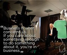 Richard #Branson Picture #Quote About #Business