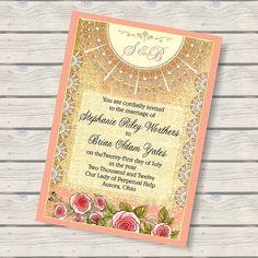 34 best Art Nouveau Wedding Invitations images on Pinterest ...