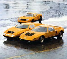 1969 in Frankfurt am Main präsentiert Mercedes-Benz ein ungewöhnliches Fahrzeug: den C 111.