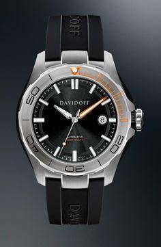 TimeZone : Industry News » N E W M o d e l - Davidoff Velocity Diver Automatic
