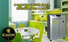 Purificatore dell'aria Imperial Tech Executive! 8 tappe per il 100% di aria ionizzata fresca e pura. Aktiv, Air Filter, Kitchen Cart, Filters, Kitchen Appliances, Tech, Cleaning, Asthma, Breathe