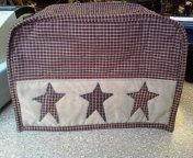 Primitive Homespun Toaster Cover by applevalleyprimitive on Etsy, $22.00