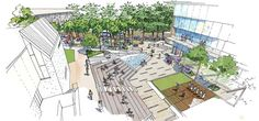 Dee Why Town Centre Master Plan   Sydney Australia   PLACE Design Group