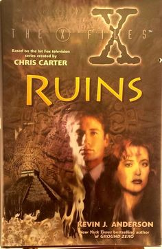 First Printing: The X-Files IV Ruins by Kevin J Anderson used hardback 9780061052477 Chris Carter, Bestselling Author, Science Fiction, Good Books, Novels, Printing, Fantasy, Movie Posters, Ebay