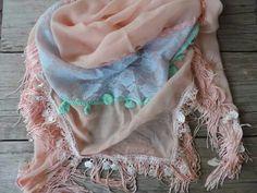 Spring! Zalm sjaal #leeuw-design ☆