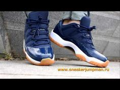 cc6a3a7010f3 Authentic Air Jordan 11 Low Navy Blue on foot - sneakerjumpman.ru   snea.
