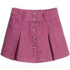 Darcy Brown Pink Herringbone Skirt at Childrensalon.com