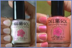 Del Sol Color-Changing Nail Polish - Pretty In Pink