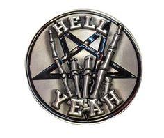 Hell Yeah Belt Buckle