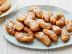 Giada De Laurentiis' Apple Fritters - #Thanksgiving #ThanksgivingFeast #Dessert