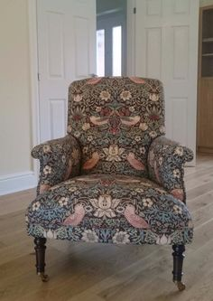 Our Cornbury Chair Looking Lovely In William Morris