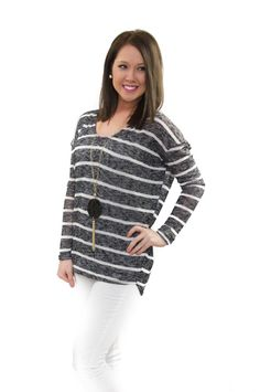 Where can you find the best pieces of the season? Right here with The Chill Of Spring Sweater! $32