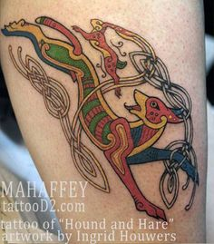 Tattoo done by my artist, Shawn Mahaffey! Not a tattoo of mine, but lovely work!