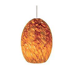 Tech Lighting Montana Pendant-Tahoe Pine Amber