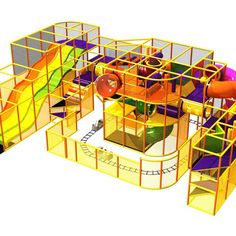Go Play Systems designs, manufactures and installs custom commercial indoor playground equipment that meets safety standards. Piscina Playground, Kids Indoor Playground, Coffee Shop Design, Commercial
