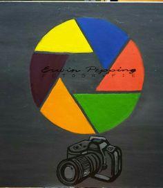 Kado voor zwager die fotograaf is ( zijn logo)