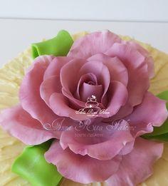 Violet sugar rose