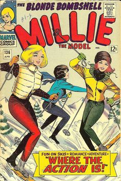 'Millie The Model' comics in the 1960's
