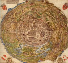 other pinner said:Hans Sebald Beham: Aerial view of the city of Vienna at the time of the First Turkish Siege in colored woodblock print, 1530 Vintage Maps, Antique Maps, Vienna Map, Kaiser Karl, Niklas, Map Globe, Fantasy Map, Old Maps, City Maps