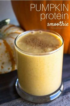 Pumpkin Protein Smoothie from Local Vegan - please see her website for the recipe!