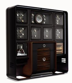 To save things for good times to be enjoyed in good company. To present wrist watches, enjoy exquisite cigars and share fine wines … and because good taste is a very personal matter, the modules that make up THE TREASURY adapt to the needs of their proud owner. A perfectly designed surrounding for the things close to your heart.