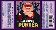 """Yazoo- Sly Rye Porter: 2012--Yazoo FINALLY makes the best adult beverage on the planet available in bottles. As my sister might say, """"It TOOK 'EM LONG ENOUGH!"""" Lerve this stuff!"""