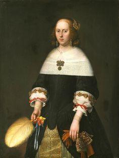 1659 Abraham Liedts - Portrait of a woman