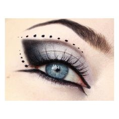 Gothic prom makeup no 1 | Idea Gallery | Makeup Geek ❤ liked on Polyvore