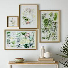 Still Acrylic Wall Art - Spring Botanicals Gallery Wall Cheap Home Decor, Diy Home Decor, Deco Cool, Acrylic Wall Art, Acrylic Panels, Clear Acrylic, Art Decor, Room Decor, Pressed Flower Art