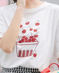 3D Printed T-Shirts Floral with Roses and Winter Berries Short Sleeve Tops Tees