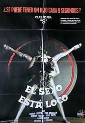 EL Sexo Esta Loco (1980) $19.99; aka: Sex Is Crazy; Martian men come to Earth in search of fertile women to help re-populate their homeworld. Their first victim is Jaunita, who is impregnated and due to the highly accelerated gestation period of the Martians is capable of giving birth to 600 babies an hour! But it turns out that this is just a stage show being put on in an Atlantic City nightclub -- and even that may not be as real as it seems. Stars Lina Romay. Jess Franco appears and…